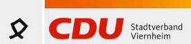Logo von CDU Stadtverband Viernheim