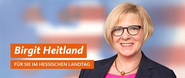 Birgit Heitland - Für Sie im Hessischen Landtag